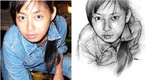 Cara Menggambar Hitam Putih Menggunakan Pensil
